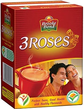 Brooke Bond 3 Roses Tea - 500 gm