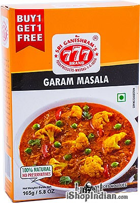 777 Garam Masala Powder - BUY 1 GET 1 FREE!