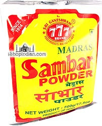 777 Madras Sambar Powder - Economy Pack