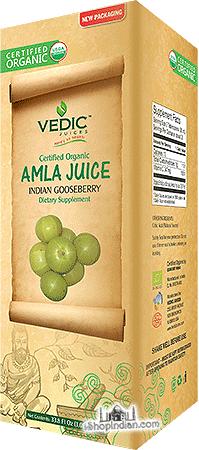 Vedic Organic Amla (Gooseberry) Juice