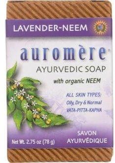 Auromere Ayurvedic Soap - Lavender Neem