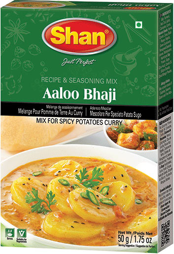 Shan Aaloo Bhaji Curry Mix