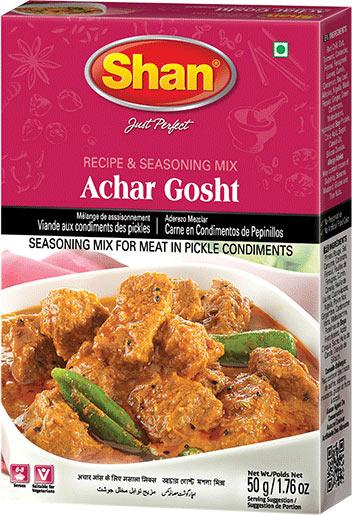 Shan Achar Gosht (Meat) Masala