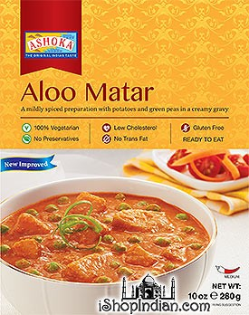 Ashoka Aloo Matar (Ready-to-Eat) - BUY 1 GET 1 FREE!
