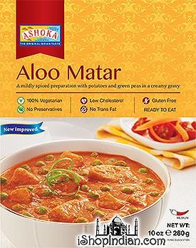 Ashoka Aloo Matar (Ready-to-Eat) - BUY 1 GET 1 FREE!