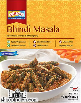 Ashoka Bhindi Masala (Ready-to-Eat) - BUY 1 GET 1 FREE!