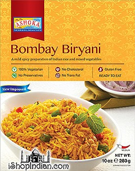 Ashoka Bombay Biryani (Ready-to-Eat) - BUY 1 GET 1 FREE!