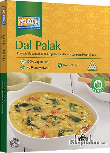 Ashoka Dal Palak (Vegan) (Ready-to-Eat) - BUY 1 GET 1 FREE!
