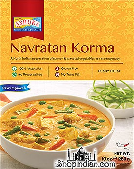 Ashoka Navratan Korma (Ready-to-Eat) - BUY 1 GET 1 FREE!
