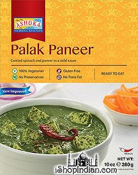 Ashoka Palak Paneer (Ready-to-Eat) - BUY 1 GET 1 FREE!