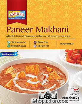 Ashoka Paneer Makhani (Ready-to-Eat) - BUY 1 GET 1 FREE!