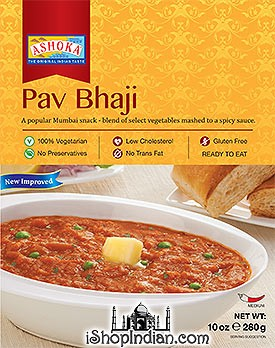 Ashoka Pav Bhaji (Ready-to-Eat) - BUY 1 GET 1 FREE!