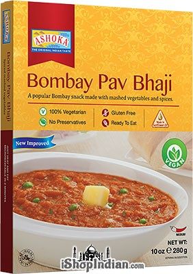 Ashoka Bombay Pav Bhaji - Vegan (Ready-to-Eat) - BUY 1 GET 1 FREE!