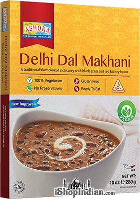 Ashoka Delhi Dal Makhani - Vegan (Ready-to-Eat) - BUY 1 GET 1 FREE!