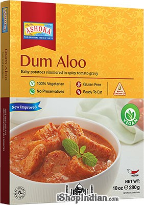 Ashoka Dum Aloo - Vegan (Ready-to-Eat) - BUY 1 GET 1 FREE!