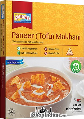 Ashoka Paneer (Tofu) Makhani - Vegan (Ready-to-Eat) - BUY 1 GET 1 FREE!