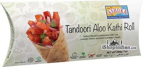 Ashoka Tandoori Aloo Kathi Roll (FROZEN)