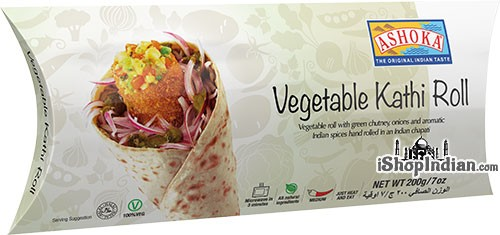 Ashoka Vegetable Kathi Roll (FROZEN)
