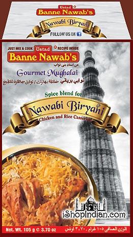 Ustad Banne Nawab's Nawabi Chicken Biryani Masala