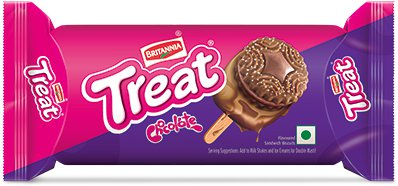 Britannia Treat Biscuits - Choco Cream Flavor