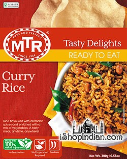 MTR Curry Rice / Tamarind Rice (Ready-to-Eat)