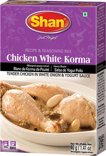 Shan Chicken White Korma Mix