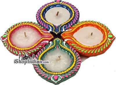 Diwali Diya (#33) - 4 Pack