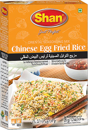 Shan Oriental Recipes - Chinese Egg Fried Rice Spice Mix
