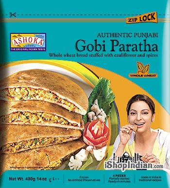 Ashoka Punjabi Gobi Paratha - 4 pcs (FROZEN)