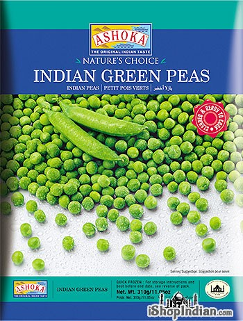 Ashoka Indian Green Peas (FROZEN)