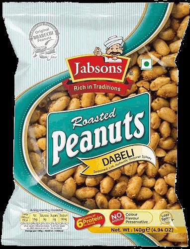 Jabsons Roasted Peanuts - Dabeli