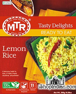 MTR Lemon Rice (Ready-to-Eat)