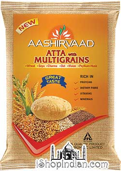 Aashirvaad Atta with Multigrains (Enriched Wheat Flour)
