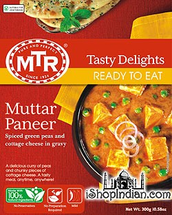 MTR Muttar Paneer (Ready-to-Eat)