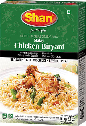 Shan Malay Chicken Biryani Mix