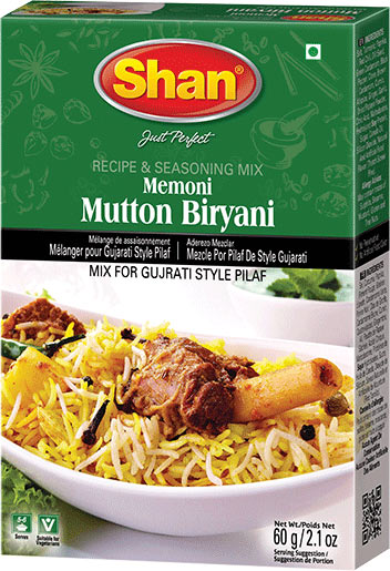 Shan Memoni Mutton Biryani Mix
