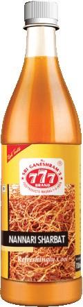 777 Nannari Sharbat (Sarasaparilla Syrup)