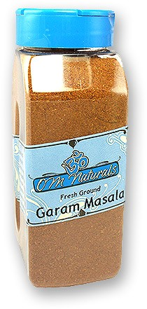 Om Naturals Garam Masala - 9 oz jar