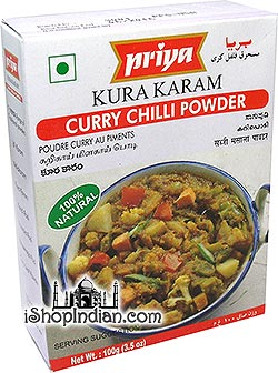 Priya Kura Karam - Curry Chilli Powder