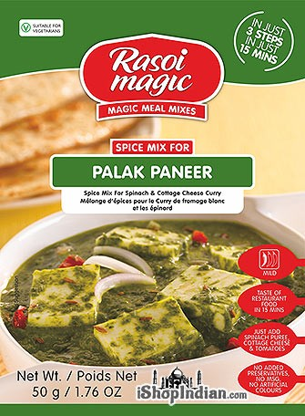 Rasoi Magic Palak Paneer Mix