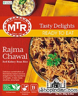 MTR Rajma Chawal - Kidney Bean Rice (Ready-to-Eat)