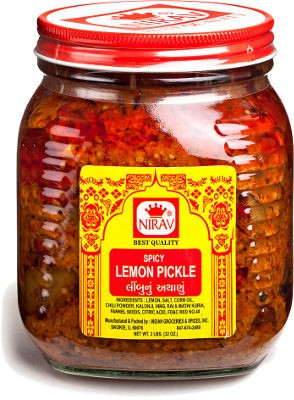 Nirav Spicy Lemon Pickle