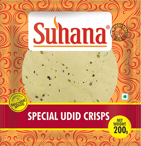 Suhana Special Udid (Black Pepper) Papad