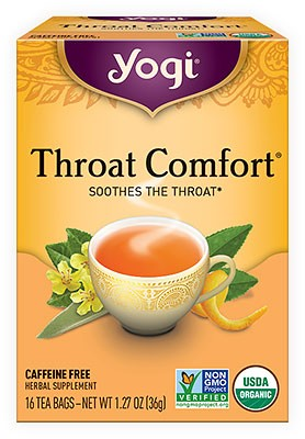 Yogi Throat Comfort Tea