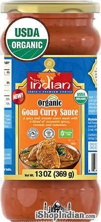 Truly Indian Organic Goan Curry Sauce