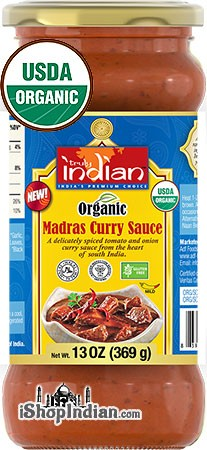 Truly Indian Organic Madras Curry Sauce