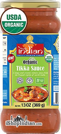 Truly Indian Organic Tikka Sauce