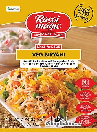 Rasoi Magic Veg Biryani Mix