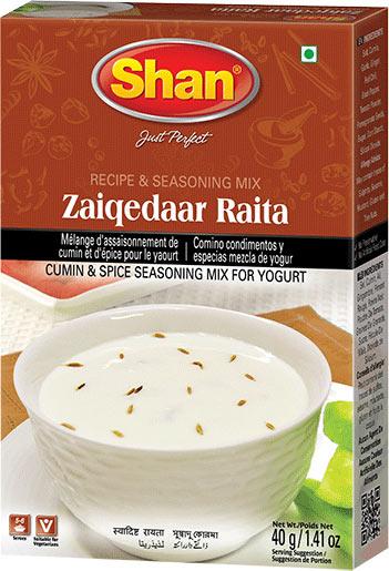 Shan Zaiqedaar Raita - Yogurt Seasoning Mix