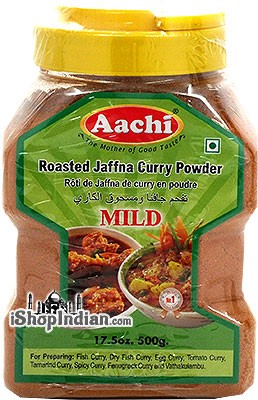 Aachi Roasted Jaffna Curry Powder (Mild)